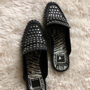 Maura Leather Studded Mules